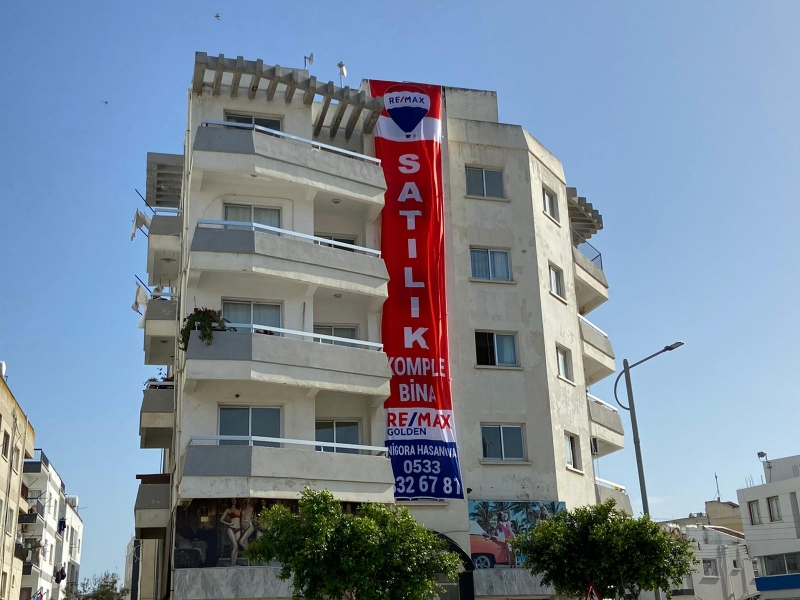 Prime Location Commercial Building For Sale in Gonyeli Remax Golden Cyprus