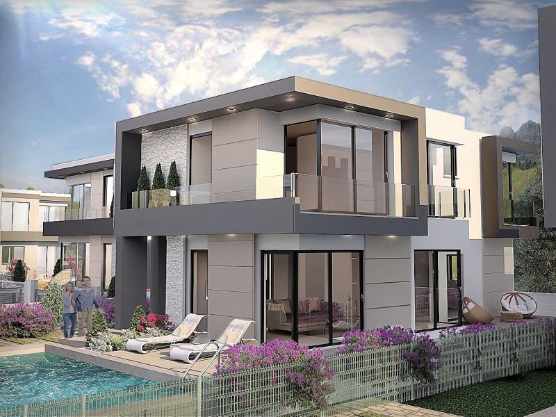 Girne Ozanköy´de ulaşımı kolay Satılık villa Remax Golden Cyprus