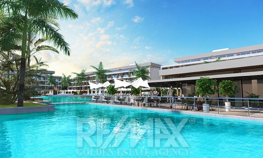 Courtyard Long Beach 3+1 Apartment Remax Golden Cyprus