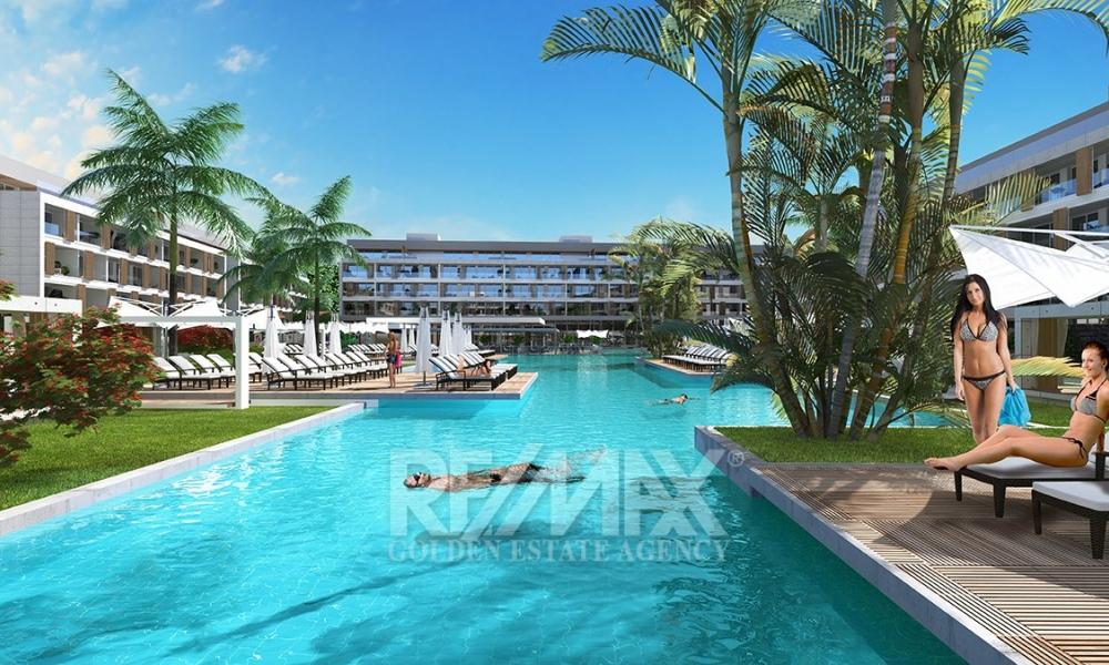 Courtyard Long Beach 1+1 Apartment Remax Golden Cyprus