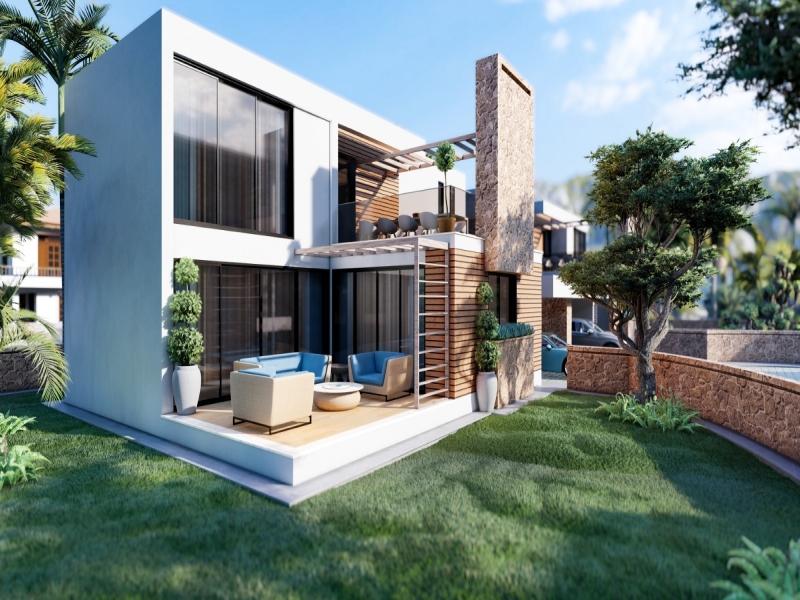 Turkish Titled Modern Villas Remax Golden Cyprus