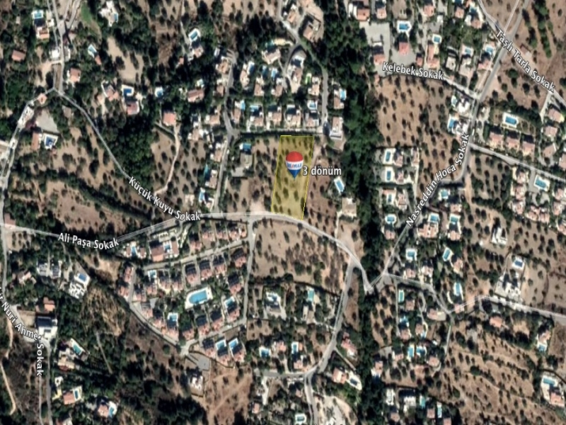 Land For Sale in Private Location in Bellapais Remax Golden Cyprus